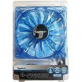 Bgears 120mm High Performance PWM Technology Fan - Translucent Blue (b-PWM 120 Blue 2ball)