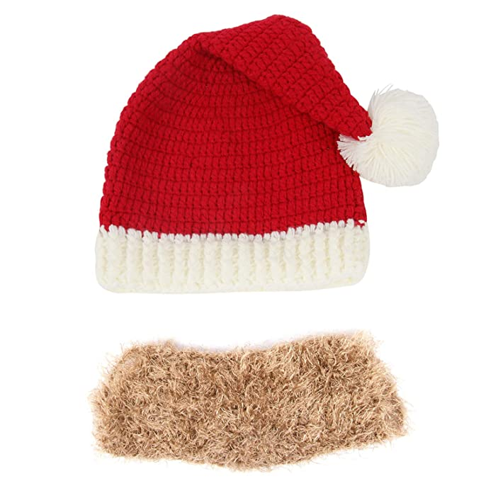 Sports Caps Outdoor Sports Running Cap Winter Santa Claus Knitted Wool Hat Halloween Creative Gift Wool Hat Running Cap For Xmas Holiday Running Caps