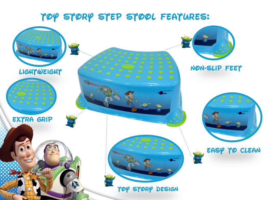 Solution Marchepied Anti-Derapant Disney Toy Story 3
