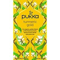 Pukka Turmeric Gold Herbal Tea Bags, 20 Count, 1.8 Grams