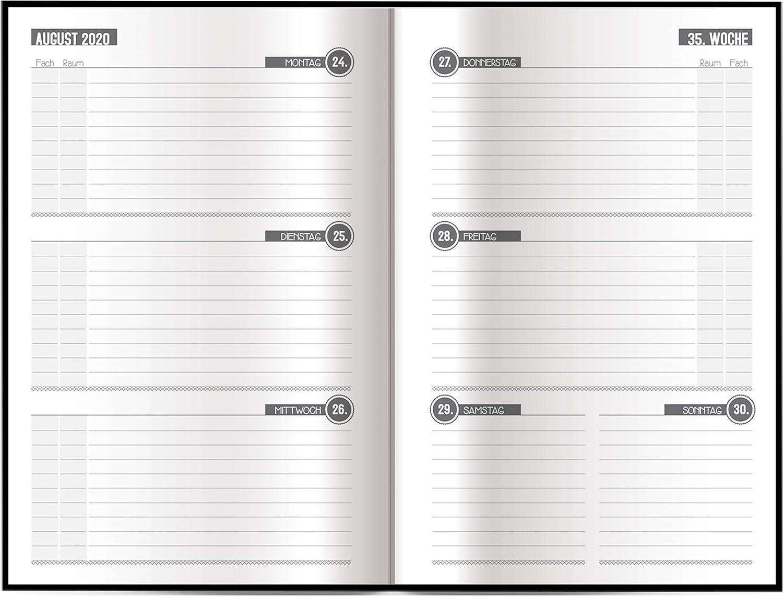 Schulplaner Hausaufgabeheft Timer Terminkalender Tr/ötsch Sch/ülerkalender Spot 2020//2021 Sch/ülerkalender // Flexi