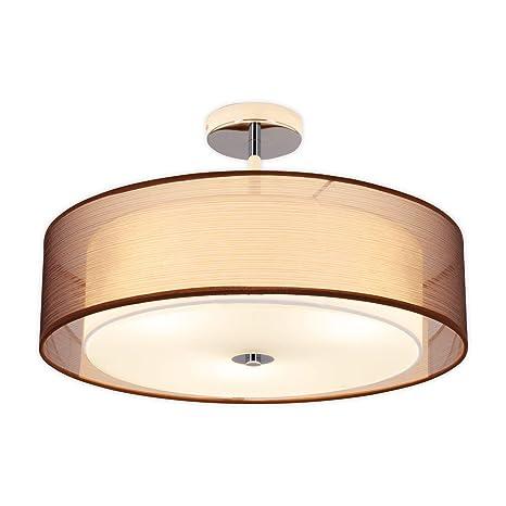 LED Lámpara de techo Pikka (Moderno) en Marrón hecho de ...