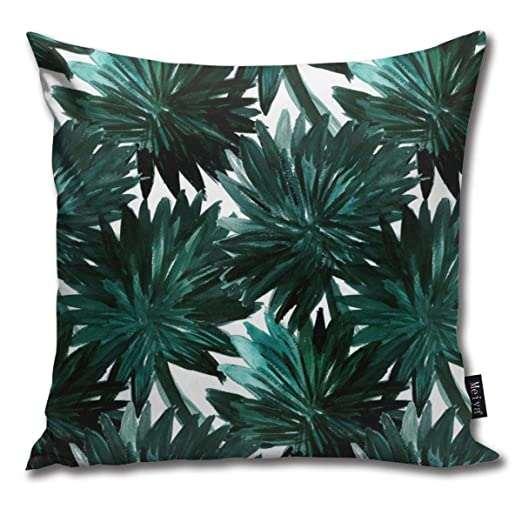 Zara-Decor Cypress Palm Home Funda de cojín Decorativa para ...