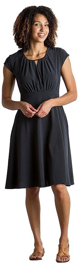 880f3a2b1b Amazon.com: ExOfficio Women's Kizmet Cross-Front Short-Sleeve Dress ...