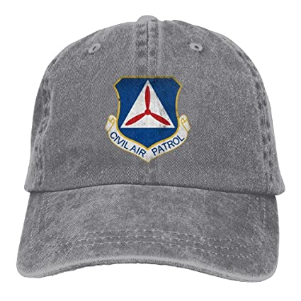 836a0ac7 Amazon.com: FUNINDIY Baseball Cap Civil Air Patrol Cap Command Man & Woman  Retro Adjustable Leisure Cap Dad Trucker Hat: Sports & Outdoors