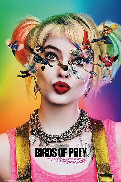 Harley Quinn - Birds of Prey - Movie Poster (24 x 36 inches): Amazon.ca:  Home & Kitchen