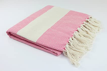 Manta de diamantes turco toalla de FOUTA Peshtemal hecho en Turquía 100% algodón turco Mejor
