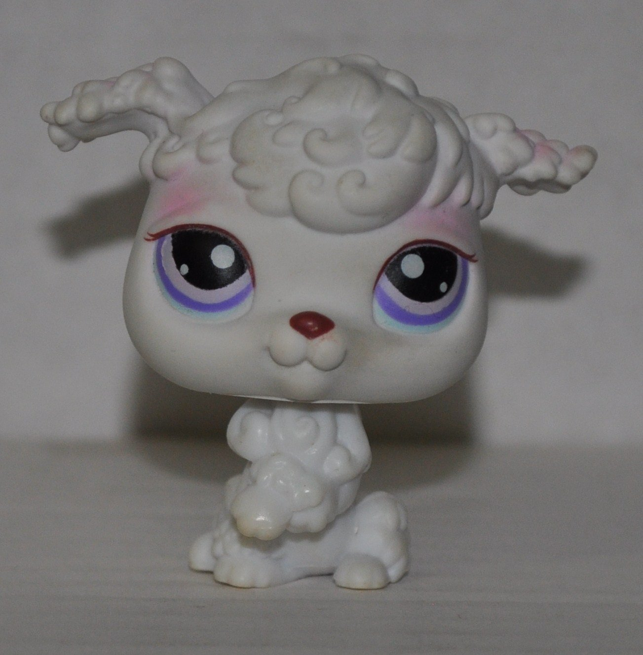 LPS Collectible Replacement Figure Retired Loose OOP Out of Package /& Print White Collector Toy - Littlest Pet Shop Poodle #101