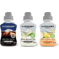 Sodastream Concentraat, zonder suiker, 500 ml, 3 stuks
