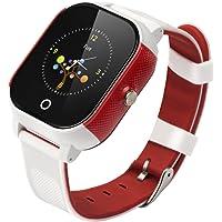 BINDEN Smartwatch Rastreador GPS FA23 Resistente el Agua IP67, Ideal para Niña o Niño, Seguimiento Minuto a Minuto con Geocerca y SOS, App Disponible para iOS y Android (Blanco)