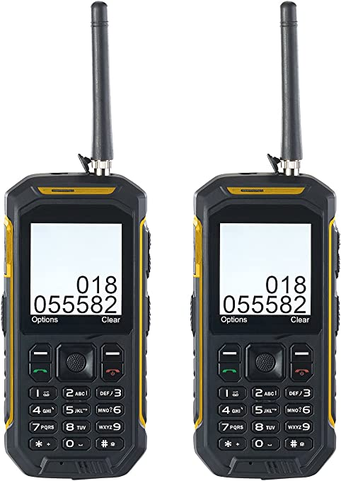 simvalley MOBILE Walkie Talkie PMR: Dual SIM de Exterior de ...