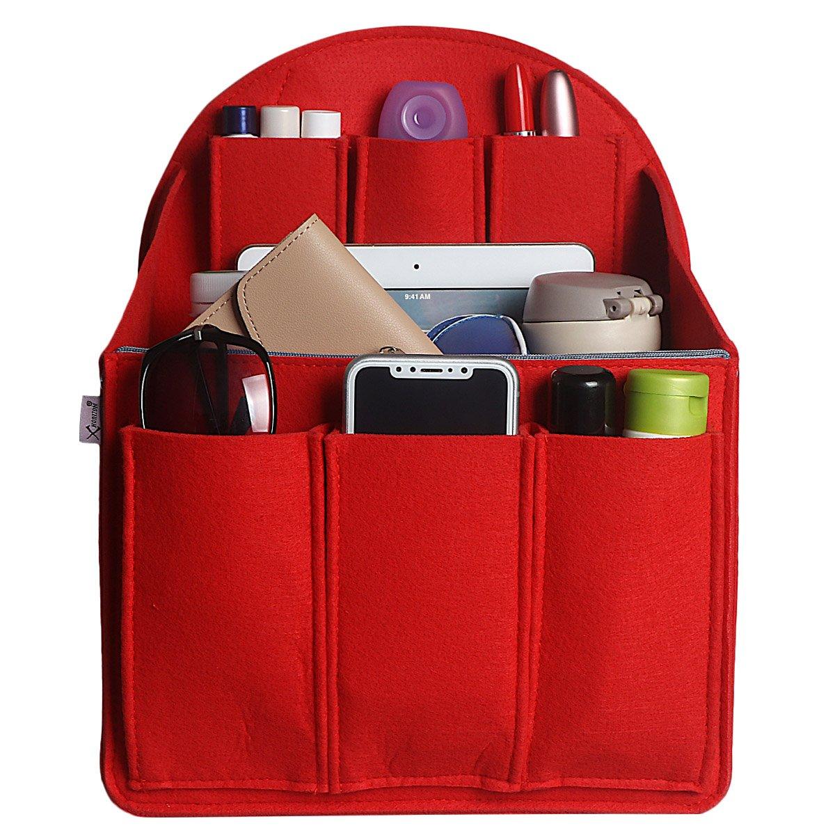xhorizon SR Purse Organizer Insert Purse Handbag Tote Bag,Bag in Bag Organizer by xhorizon (Image #2)