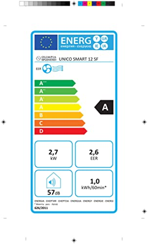 Olimpia Splendid 01493 Klimaanlage Fixed Unico Smart 12 SF