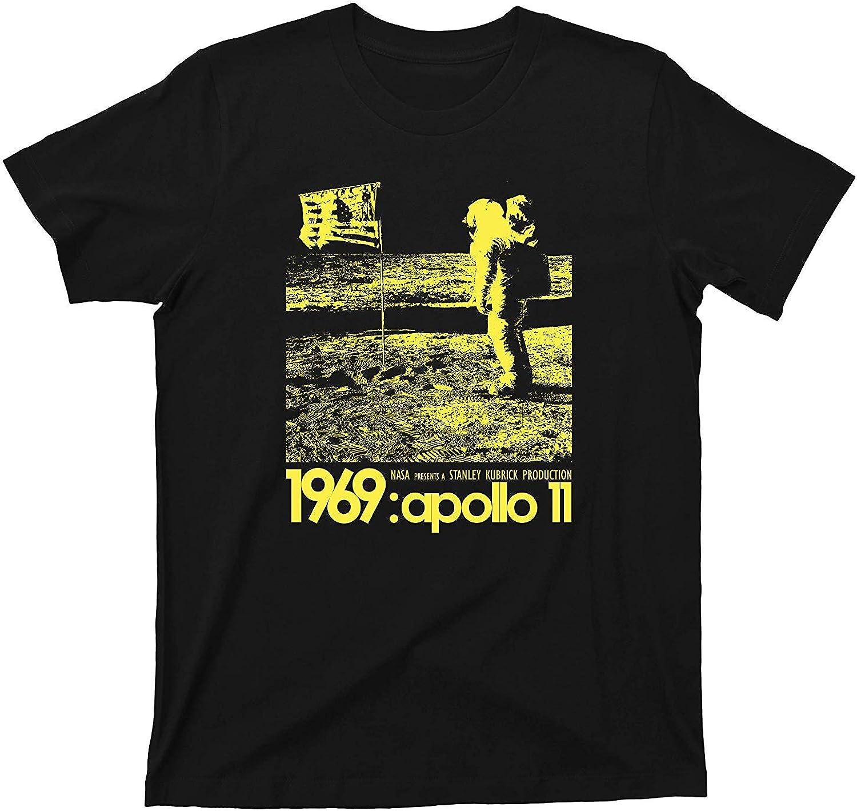 Camiseta de Stanley Kubrick Apolo 11 1969 Falso Falso Teoría de la ...
