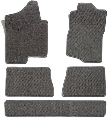 Coverking Custom Fit Front Floor Mats for Select Volvo 960 Models Nylon Carpet Black