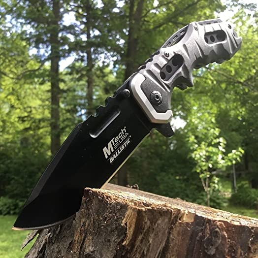 New 8 M-TECH Tactical Combat SPRING ASSISTED OPEN Black Folding POCKET Eco Gift LIMITED EDITION Knife