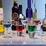 LSA International Assorted Lulu Liqueur Glass