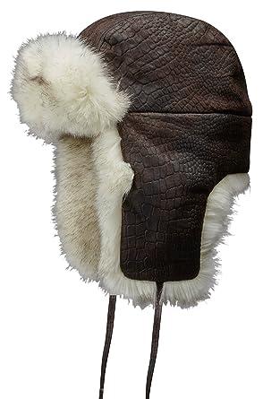 f1d839165 Stetson Men's Trapper Hat Oviedo Pigskin - brown S/54-55: Amazon.co ...