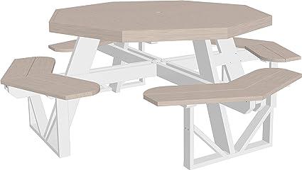 Super Amazon Com Luxcraft Recycled Plastic 8 Person Octagon Download Free Architecture Designs Oxytwazosbritishbridgeorg