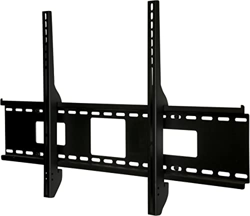 Peerless SF670P Universal Fixed Low-Profile Wall Mount for 46-Inch to 90-Inch Displays Black Non-Security
