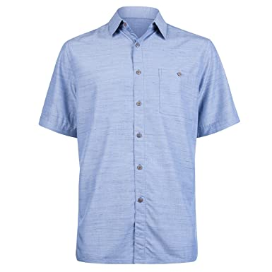 14afeb30 Campia Men's Classic Button Down Shirt, Short Sleeves in Solid Colors