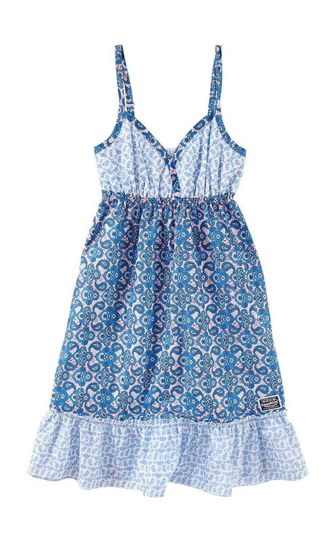 Kleid, blau-weiß von KangaROOS