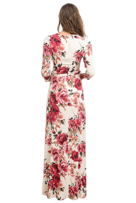 Hello MIZ Vestido de Maternidad para Mujeres médium Marfil/Rojo: Amazon.es: Ropa y accesorios