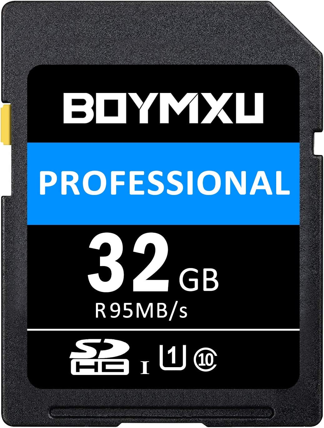 32GB SD Card, BOYMXU Professional 1000 x Class 10 SDHC UHS-I U3 Sd Card Compatible Computer Cameras and Camcorders, SD Memory Card Up to 95MB/s, ...