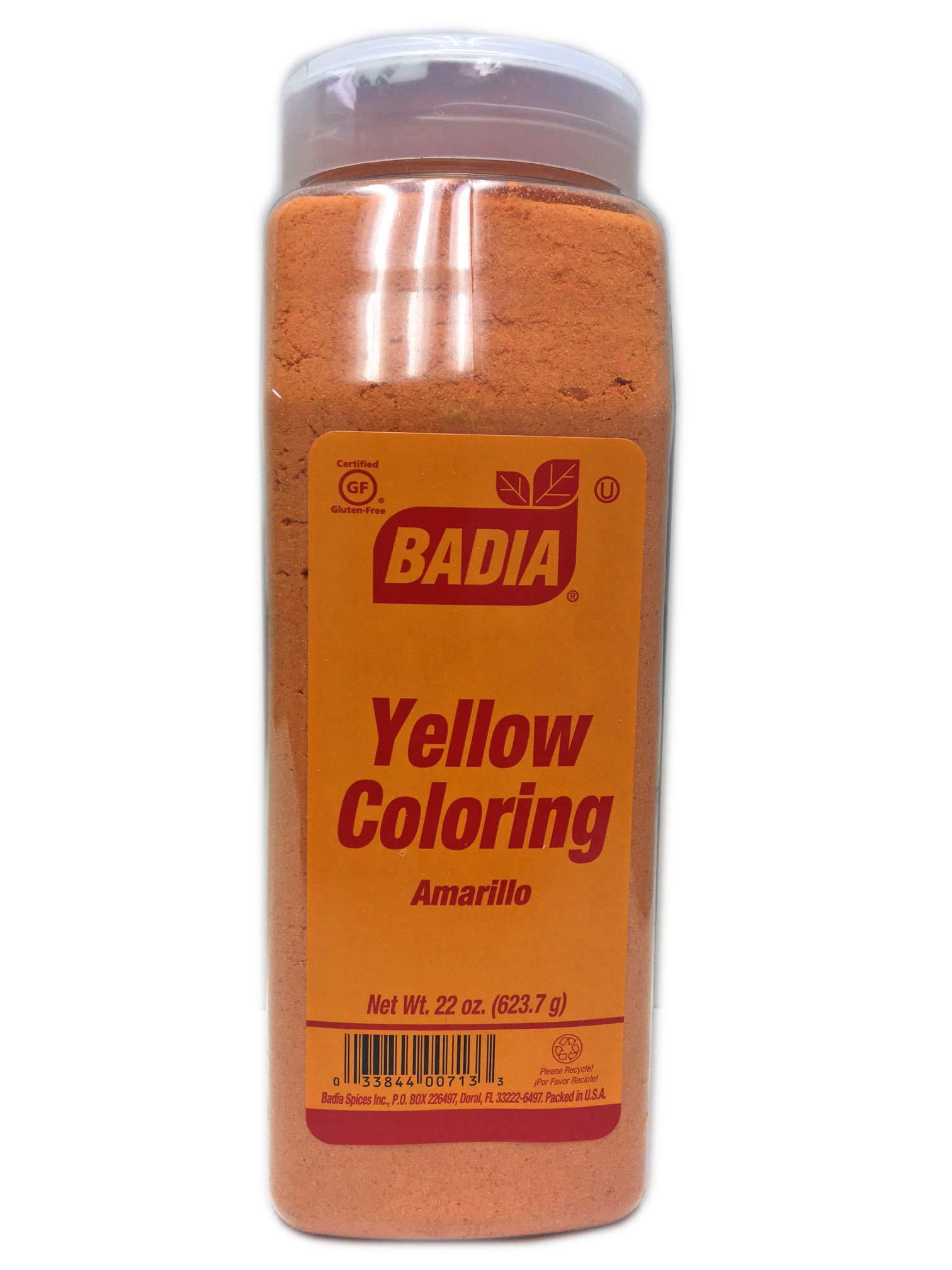 2 PACK Yellow Coloring Food Powder/Amarillo Color Gluten Free Kosher 2x22 oz