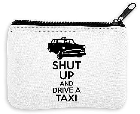 Shut Up and Drive A Taxi Monedero de la Cremallera de la ...