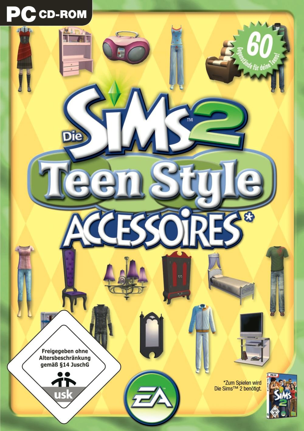 Die Sims 2 - Teen Style Accessoires (Add-On): Amazon.de: Games