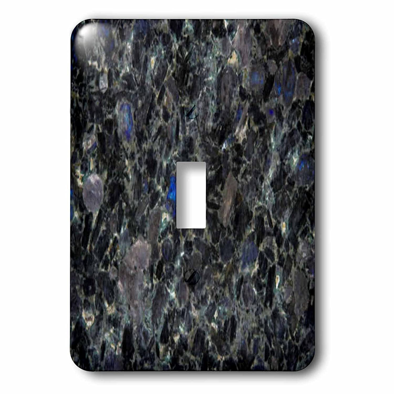 Home Improvement 3dRose lsp/_97971/_1 Volga Blue granite print Single Toggle Switch Multicolor 3D Rose