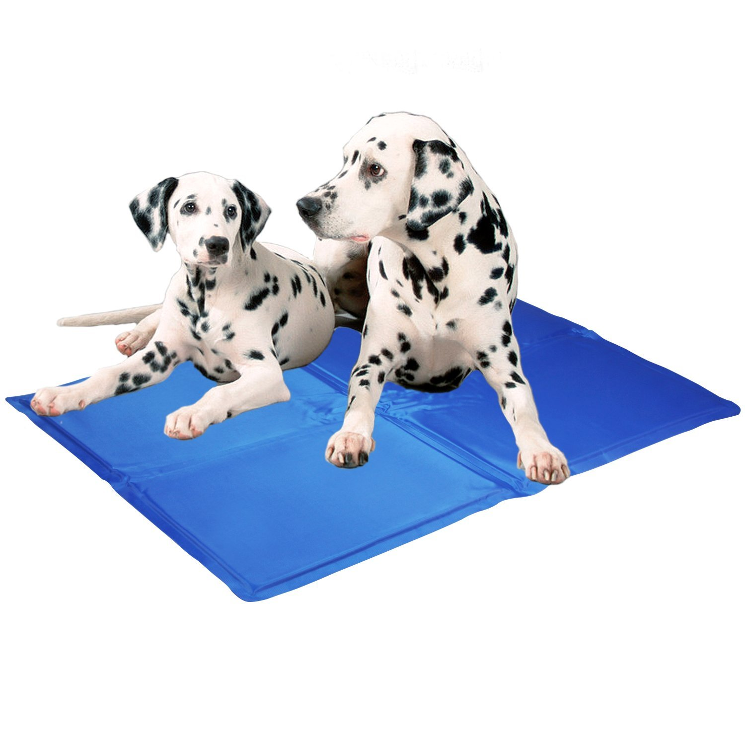 Kingstar Pet Chilly Gel Mat, Premium Folding Soft Comfort Bed Self Cooling Pad for Dogs Cats Different sizes