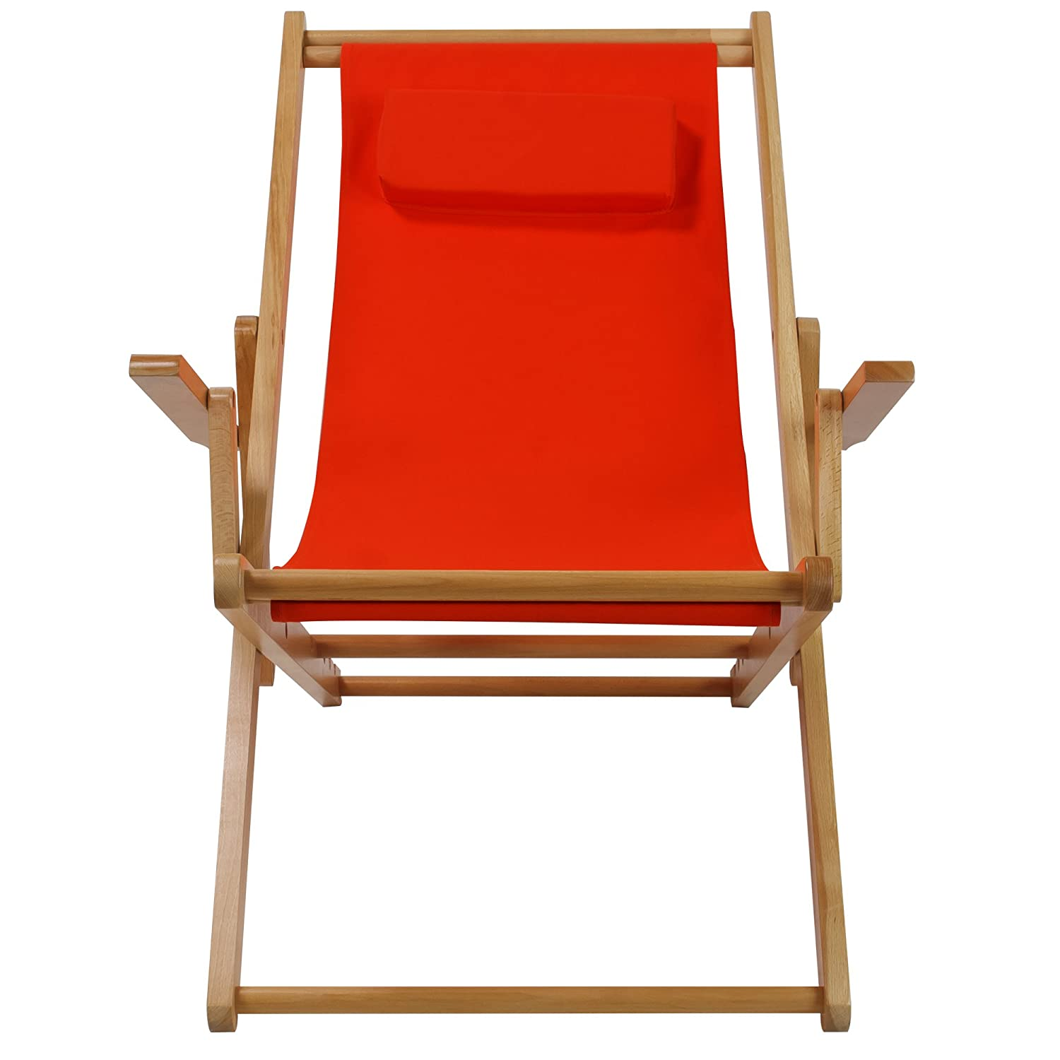 Amazon Casual Home Sling Chair Orange Canvas Kitchen & Dining