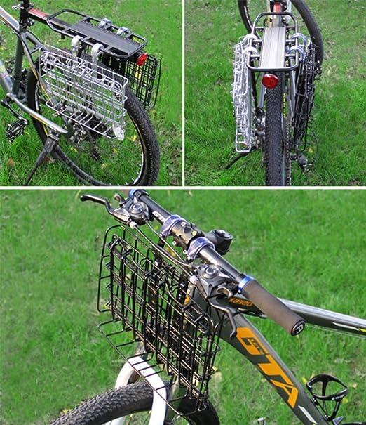 GPFDM Cesta De Bicicleta Plegable - Instalación Fácil A ...