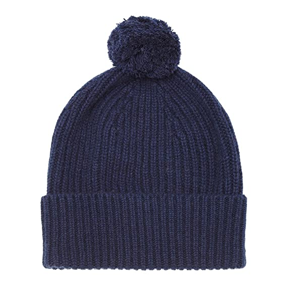 Pure Cashmere Bobble Hat a96f0364466