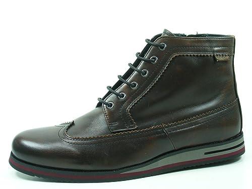a22813bb209 Pikolinos M9H-8123AA Leon Botas con cordones de cuero para hombre:  Amazon.es: Zapatos y complementos