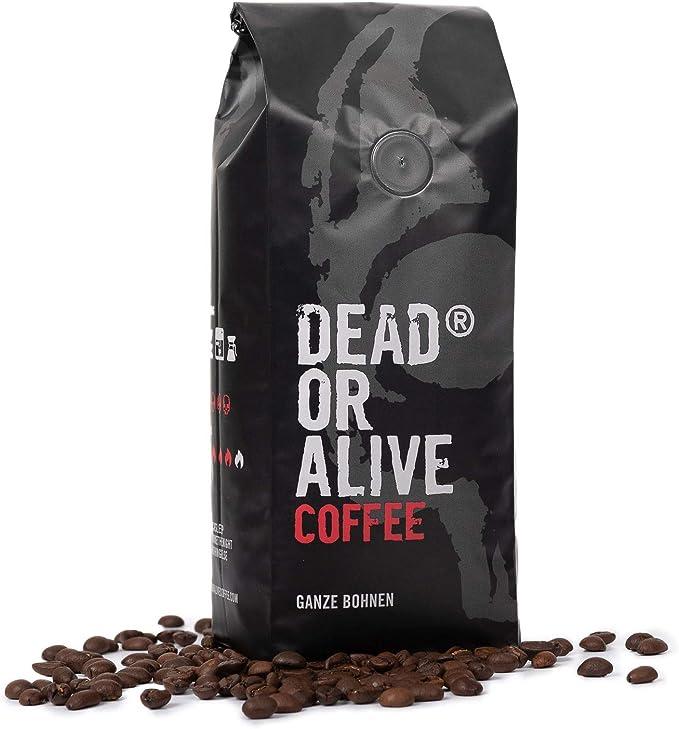 Dead or Alive Café en Grano - Mezcla Intenso, Aroma Fuerte, Sabor ...