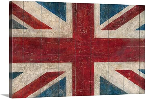 Union Jack Canvas Wall Art Print