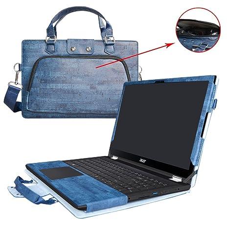 Acer Spin 3 Funda,2 in 1 Diseñado especialmente La Funda protectora de cuero de