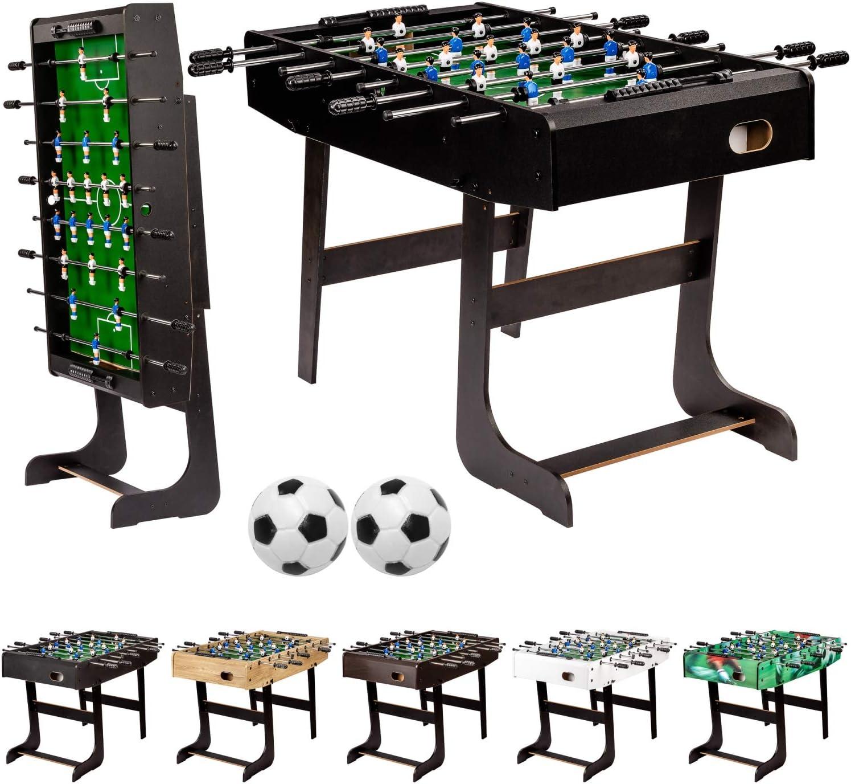 Maxstore - Futbolín Plegable: Amazon.es: Deportes y aire libre