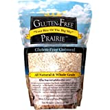 Gluten-Free Prairie Oatmeal, Certified Gluten Free Purity Protocol, Non-GMO, Vegan, 3 Pounds