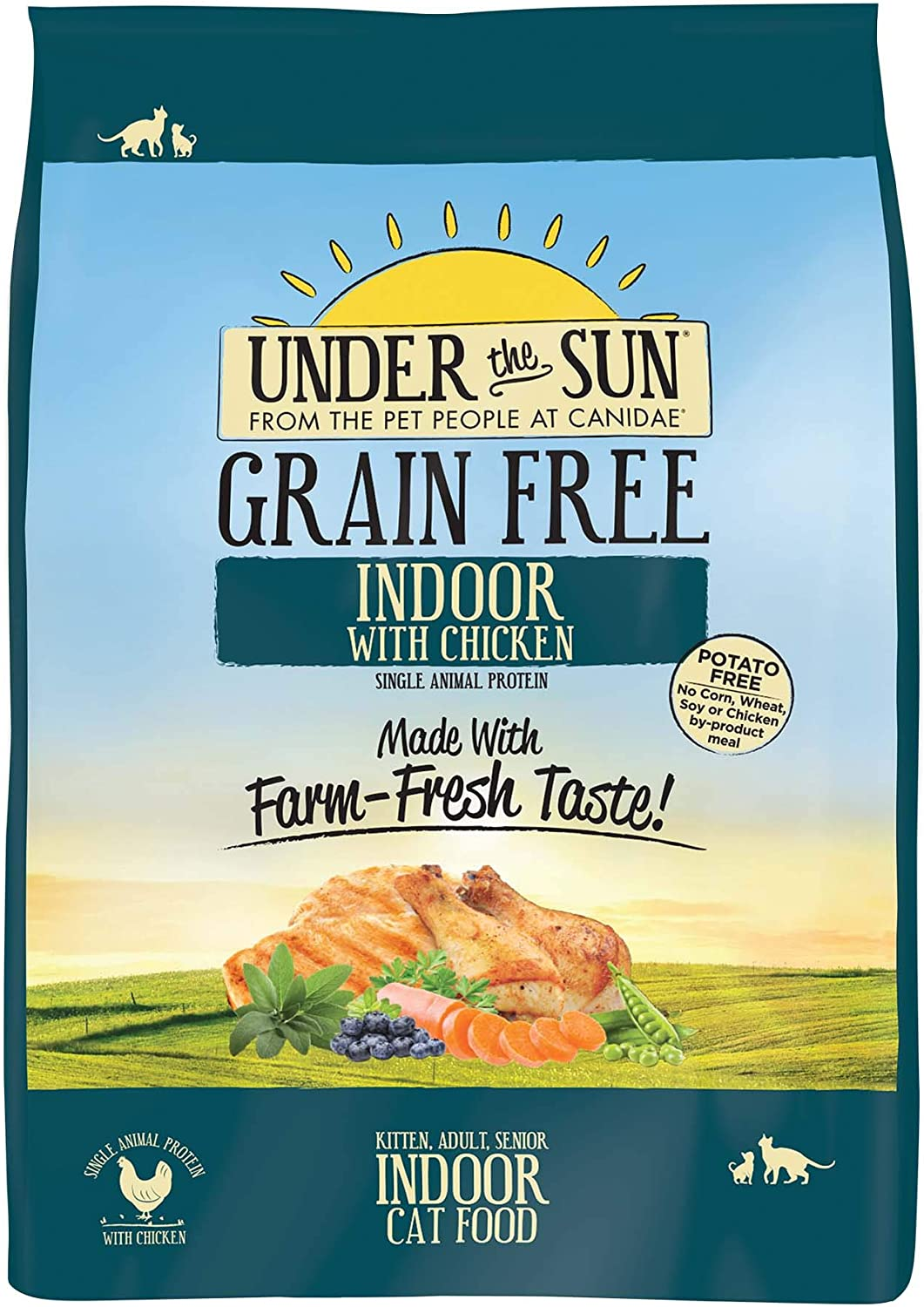 Under The Sun Grain Free Cat Food
