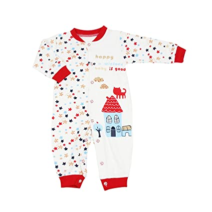 OWF Super suave Unisex-Baby recién nacido Footless Sleep N Play/body de/
