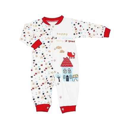 OWF Super suave Unisex-Baby recién nacido Footless Sleep N Play/body de/