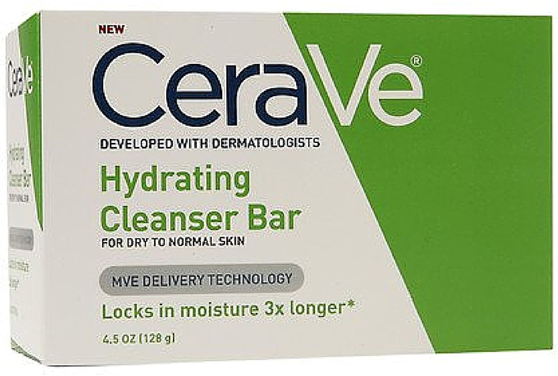 CeraVe Hydrating Cleansing Bar 4.5 oz (Pack of 4) VALEANT PHAR
