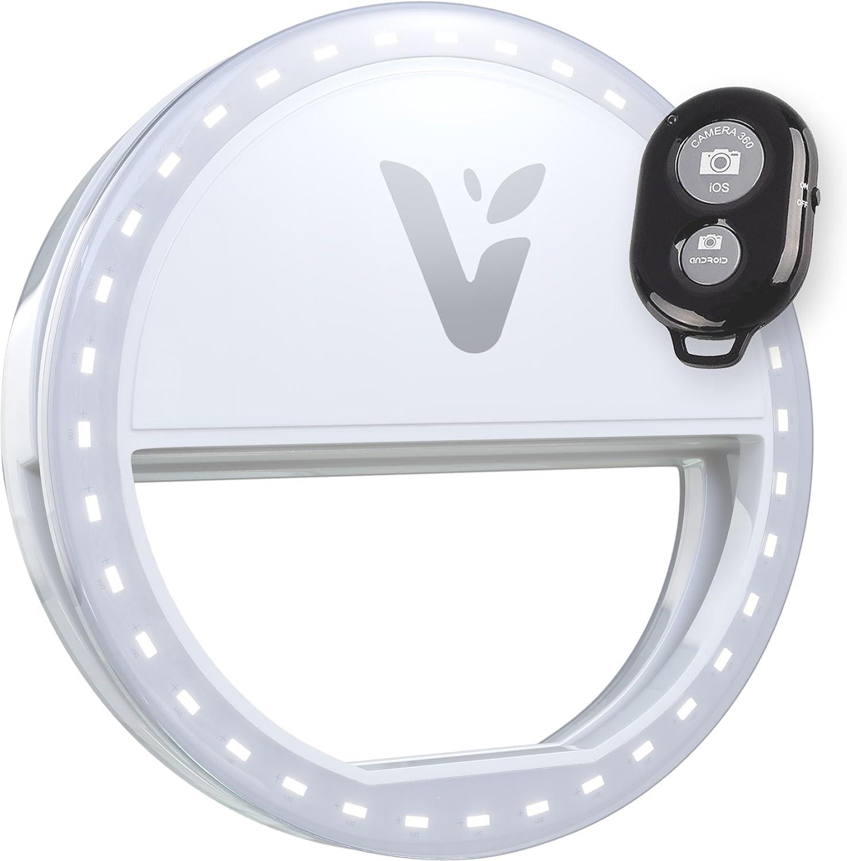Stellar Led Diva Ll Ring Light: Veemoh Camera Diva Ring Light LED Cell Phone Lighting For