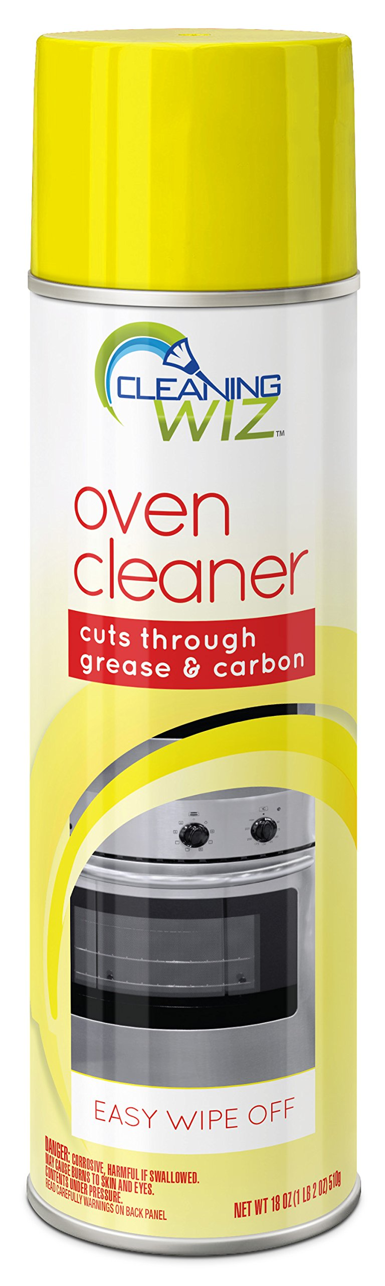 Cleaning Wiz Oven Cleaner, 18 Fluid Ounce (Pack of 4)