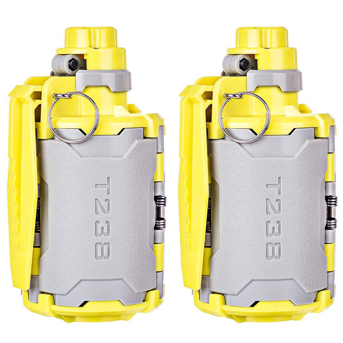 GODNECE T238 V2 HandGrünate für Nerf Grünaten Wasserkugeln Taktisch Wasserbomben Water Bullet Bomb Wasserperlen für Nerf Airsoft CS