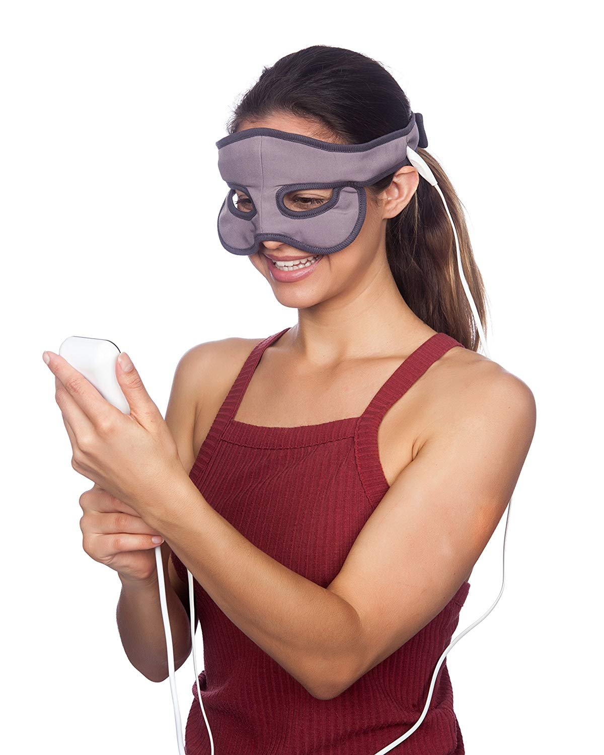 SNIFF RELIEF PREMIUM HEATED SINUS MASK | REUSABLE SINUS AND CONGESTION RELIEF | FDA-APPROVED FOR RELIABLE PERFORMANCE EVERY DAY | 9.8 FT POWER CORD | 105-140 FAHRENHEIT (40-60C) TEMPERATURE RANGE
